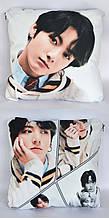 Подушка k-pop 40х40 см із змінною наволочкою BTS - Jungkook