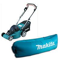 Аккумуляторная газонокосилка Makita DLM 380 Z + надувной диван-ламзак