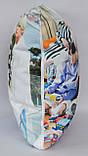 Подушка k-pop 40х40 см із змінною наволочкой BTS, фото 4