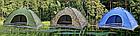 Палатка автоматическая 4-х местная   Палатка кемпинговая Smart Camp   Зеленый, фото 2