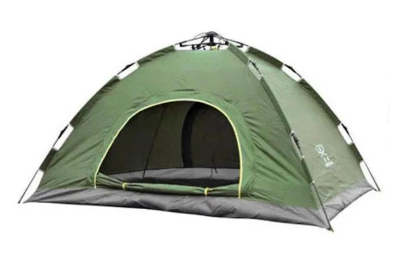 Палатка автоматическая 4-х местная   Палатка кемпинговая Smart Camp   Зеленый