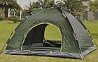 Палатка автоматическая 4-х местная   Палатка кемпинговая Smart Camp   Зеленый, фото 5