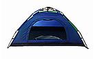 Палатка автоматическая 2-х местная   Палатка кемпинговая Smart Camp   Синяя, фото 2