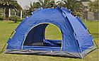 Палатка автоматическая 2-х местная   Палатка кемпинговая Smart Camp   Синяя, фото 6