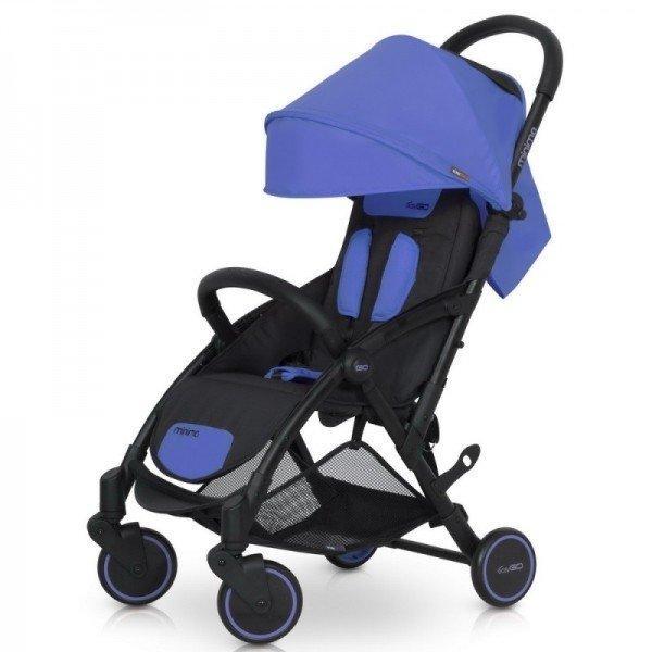 Модная прогулочная коляска для ребенка EasyGo Minima Sapphire