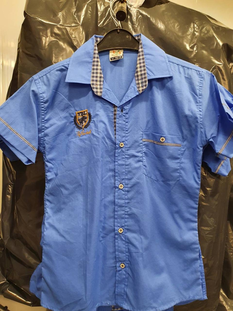 Акция!!! Детская рубашка Wikiland (6-10)