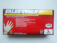 Латексні рукавички розмір L 100 шт
