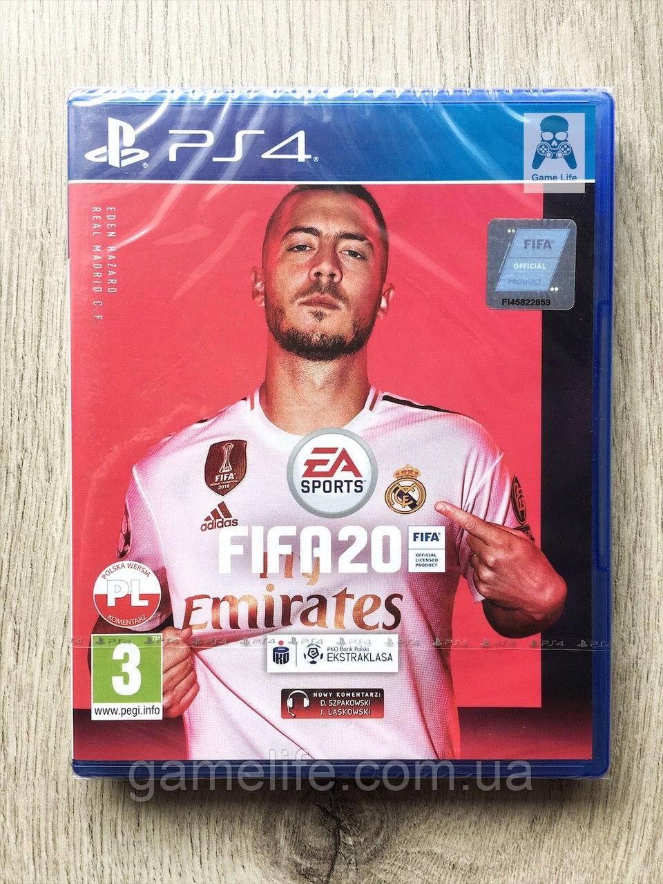 FIFA 20 (рус.) PS4