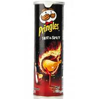 Чіпси гострі з перцем чилі Pringles Hot & Spicy 165 г