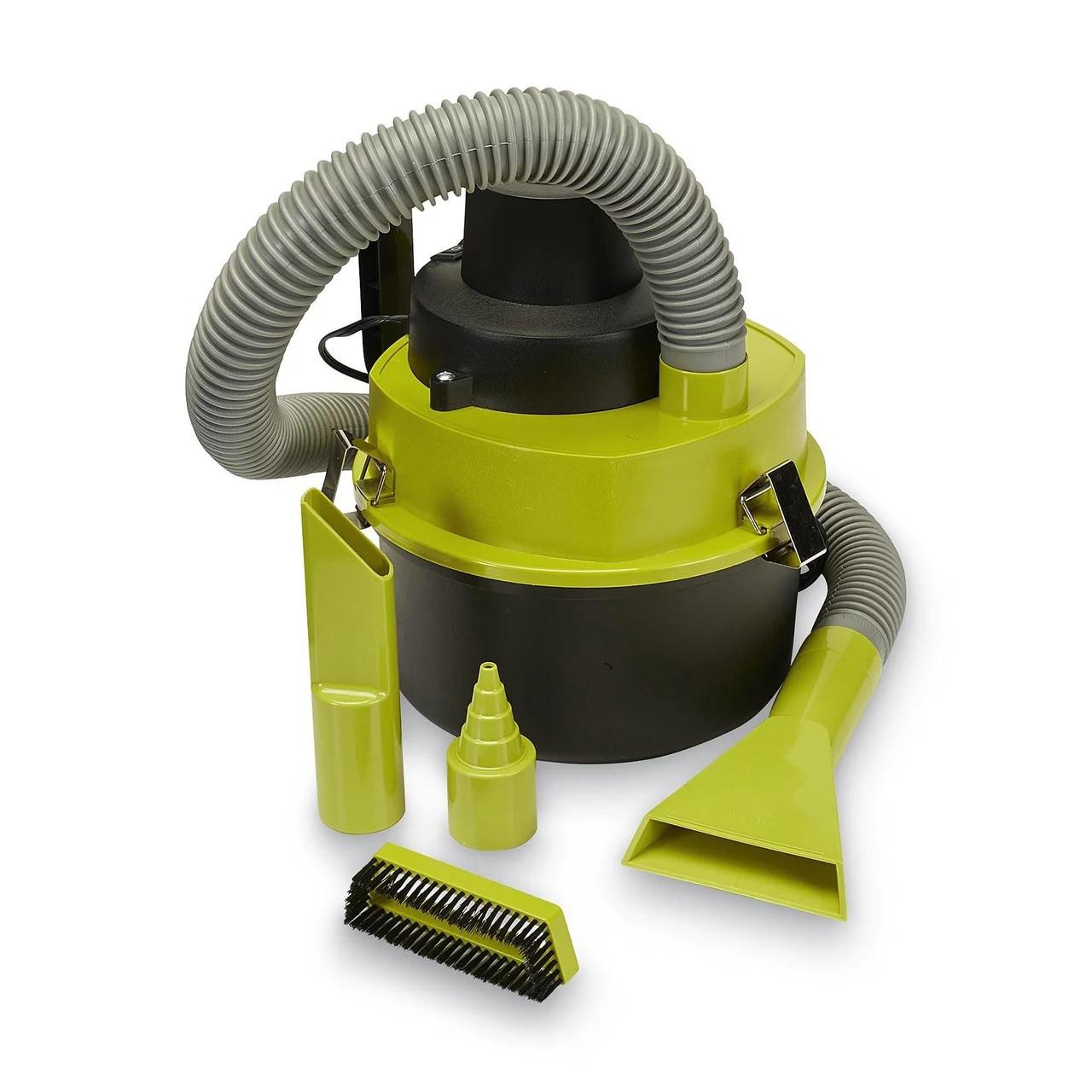 Автомобильный пылесос для сухой и влажной уборки The Black Series