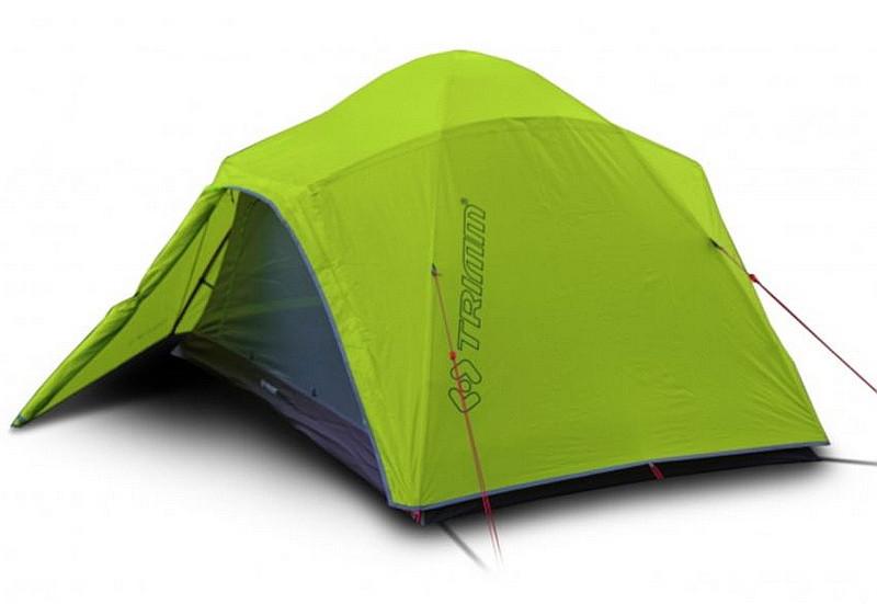 Палатка туристическая 2-местная Trimm Apolos D (2350x2700x1250мм), зеленая