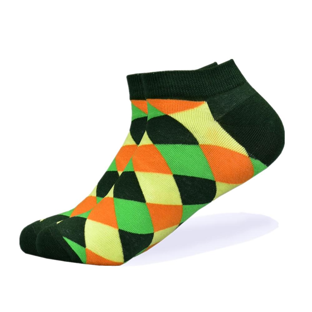Низькі шкарпетки, розмір 39-45, різнобарвні, яскраві, happy socks, чоловічі/жіночі - унісекс