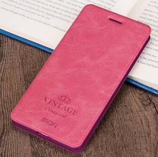 Чохол-книжка MOFI Vintage для xiaomi Redmi Note 8 Pro Рожевий