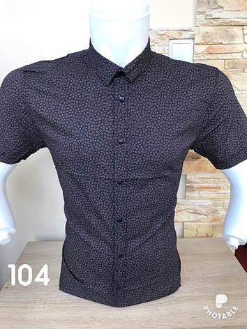 Рубашка короткий рукав Black Stone с принтом, фото 2