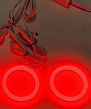 """95 мм led-кольца RGB, (3"""") в фару (ангельские глазки). 2шт., фото 3"""
