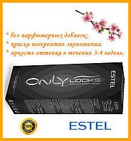 Краска для бровей и ресниц Estel Professional Only looks черная 50мл Эстель Профешинал Онли лукс