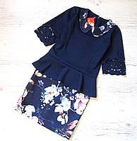 Р.128-152 Детское нарядное платье Мелания, фото 1