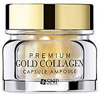 Ампульные капсулы с коллагеном и золотом SNP Premium Gold Collagen capsule ampoule  срок годности до 19.02.2021