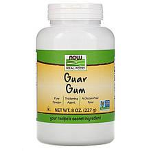 """Натуральная гуаровая камедь NOW Foods, Real Food """"Guar Gum"""" чистая (227 г)"""