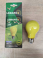 Led лампа от комаров 6W E27 A60 Lemanso Lm774