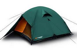 Палатка туристична 3-місна Trimm OHIO (3100х2200х1150мм), зелена