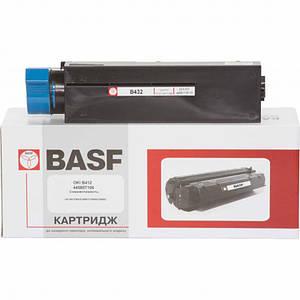 Картридж BASF (BASF-KT-B412-445807106) OKI B412/B432/B512 Black (аналог 445807106)
