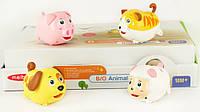 Заводная игрушка - животные 8 шт. в коробке