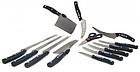 Набор профессиональных кухонных ножей Miracle Blade World Class 13 предметов  | Набор ножей, фото 3
