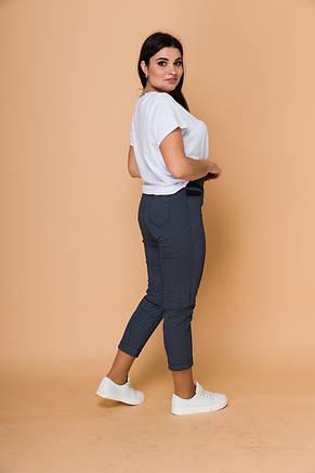 Жіночі стильні брюки з ефектом утяжки, фото 2