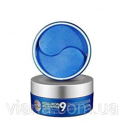 Увлажняющие гидрогелевые патчи с пептидами  MEDI-PEEL Hyaluron Aqua Peptide 9 Ampoule Eye Patch