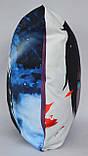 Подушка аніме 40х40 см із змінною наволочкой Noragami, фото 4