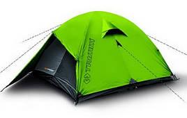 Палатка туристична 3-місна Trimm Frontier D (3100х2200х1150мм), зелена