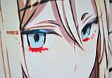 Подушка аніме 40х40 см із змінною наволочкою Satsuriku Tenshi no, фото 5