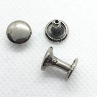Хольнитен 7 мм двухсторонние Темный никель ( в упаковке 1000 штук)