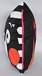 Подушка аніме 40х40 см із змінною наволочкою Кумамон, фото 4