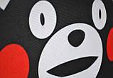 Подушка аніме 40х40 см із змінною наволочкою Кумамон, фото 5