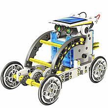Конструктор робот на сонячних батареях Solar Robot 14 в 1 Різнобарвний (300348)