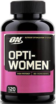 Витамины для женщин Опти Вумен Оптимум Нутришн / Opti-Women Optimum Nutrition 120 капсул