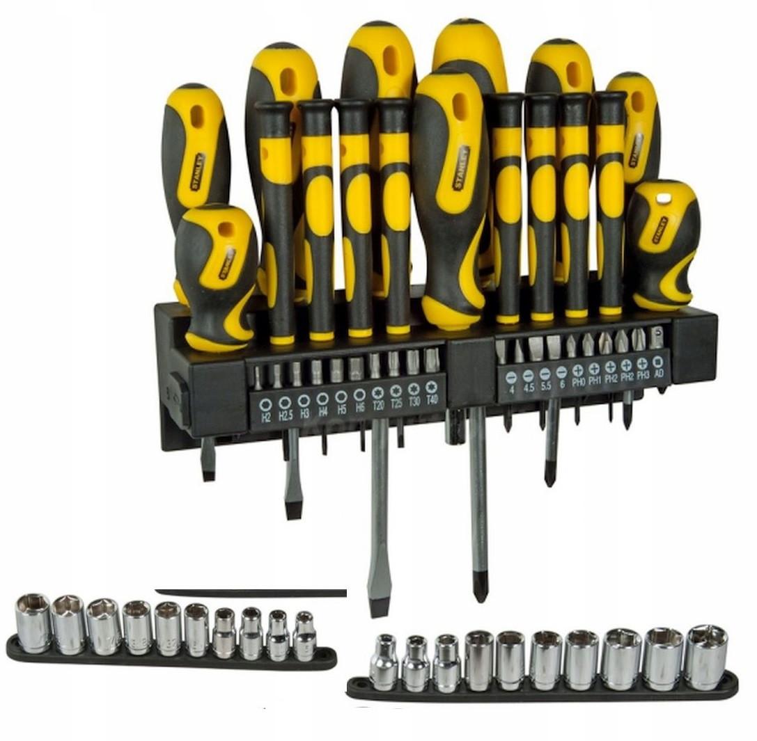 Набор отверток и отверточных насадок STANLEY 57 предметов (STHT0-62143)