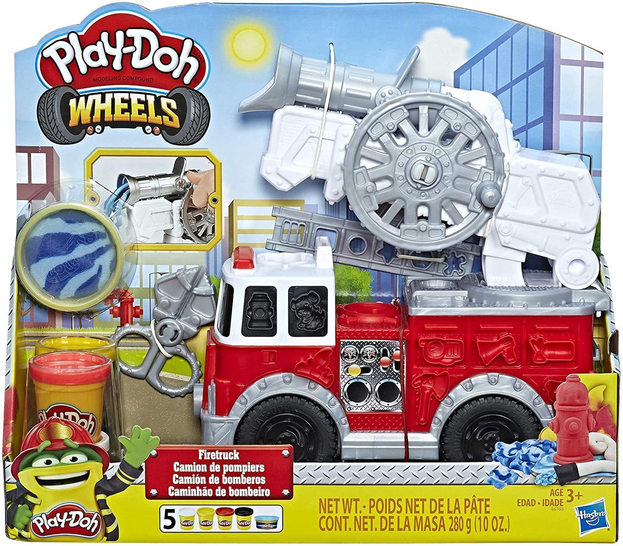 Набор для творчества Плей-До Пожарная Машина (E6103) Play-Doh FIRE Truck