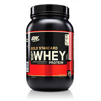 Сывороточный протеин Optimum Nutrition Whey Gold 907 г - шоколадная помадка (chocolate malt)
