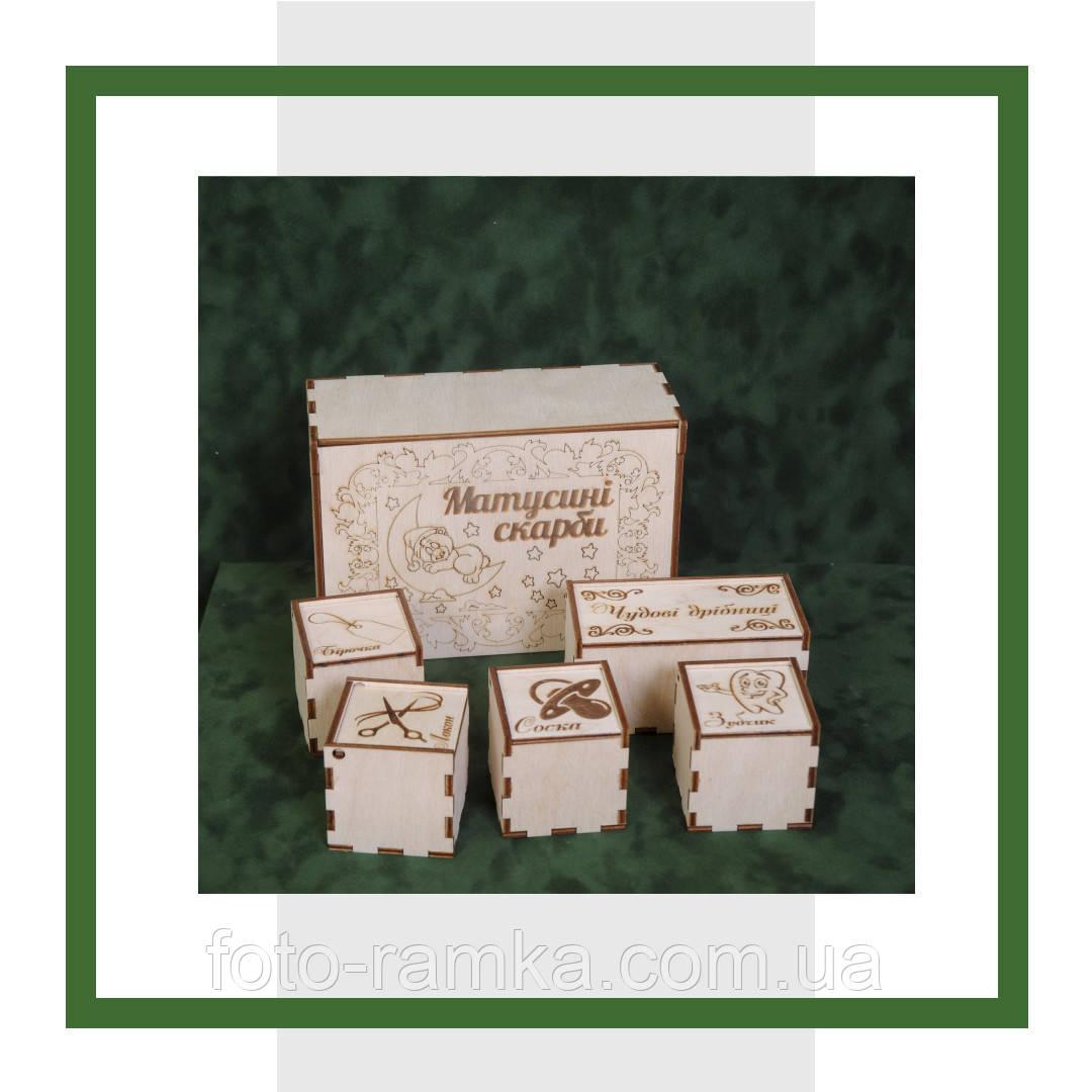 Коробка Мамині скарби