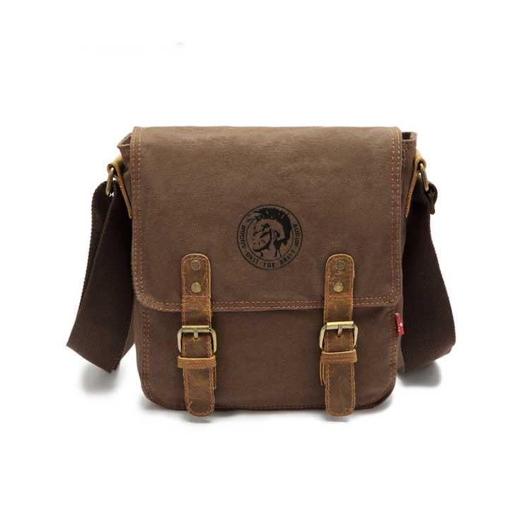 Чоловіча сумка через плече Augur коричневого кольору