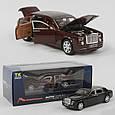 Машинка металлическая EL 2566 ТК Group класса Rolls-Royce с открывающимися дверями, (2 цвета), свет, звук, фото 2