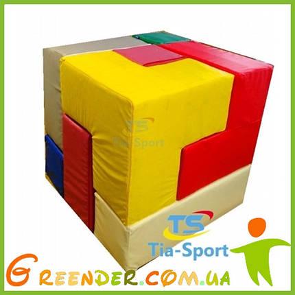 М'який конструктор Кубик Рубіка, 7 ел., фото 2