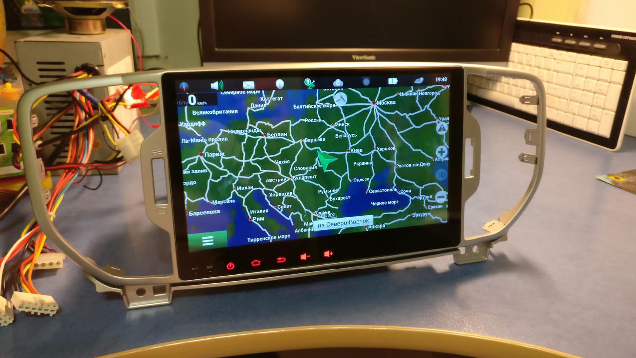 Магнитола штатная головное устройство Kia Sportage 2016