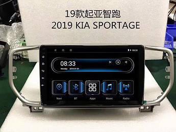Штатна магнітола головний Пристрій Kia Sportage 2019