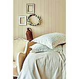 Комплект постельного белья с покрывалом Pike jacquard 200*240 TM Karaca Home Fois bej, фото 2