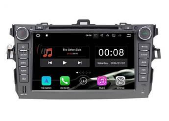 Магнітола головний Пристрій Toyota Corolla Android
