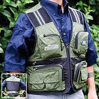 Жилет Lineaeffe FF Green Fishing Vest XL